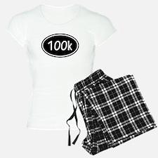 Black 100k Oval Pajamas