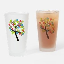 Tree Bubbles Drinking Glass