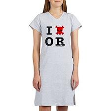 Oregon Women's Nightshirt