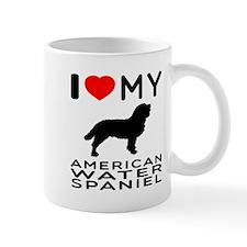 I Love My American Water Spaniel Mug