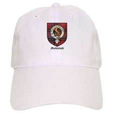 Mackintosh Clan Crest Tartan Baseball Cap