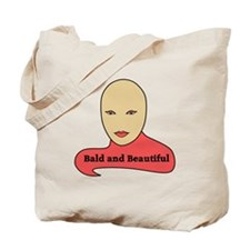 Bald and Beautiful v1.1 Tote Bag