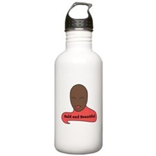 Bald and Beautiful v1.1 Water Bottle