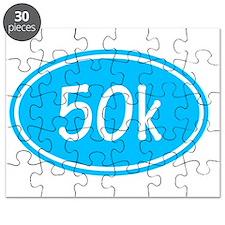 Sky Blue 50k Oval Puzzle