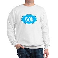 Sky Blue 50k Oval Sweatshirt