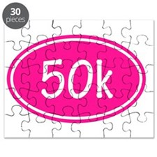 Pink 50k Oval Puzzle