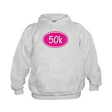 Pink 50k Oval Hoodie