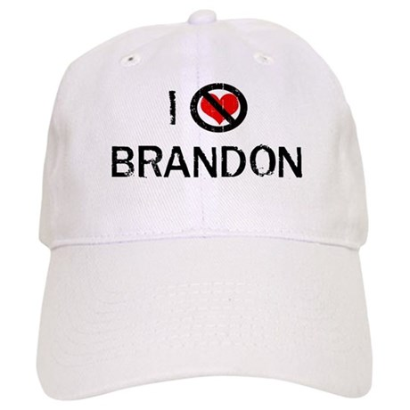 I Hate BRANDON Cap