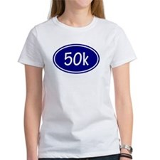 Blue 50k Oval T-Shirt