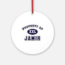 Property of jamir Ornament (Round)