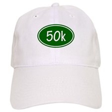 Green 50k Oval Baseball Baseball Cap