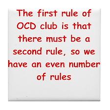 ocd Tile Coaster