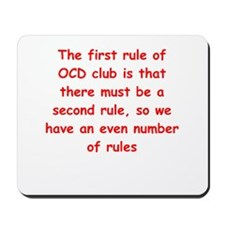 ocd Mousepad