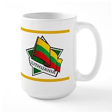 """""""Lithuania Star Flag"""" Mug"""