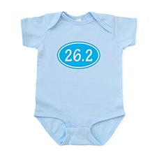 Sky Blue 26.2 Oval Body Suit
