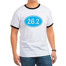 Sky Blue 26.2 Oval T-Shirt