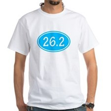 Sky Blue 26.2 Oval T-Shirt