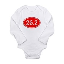 Red 26.2 Oval Body Suit