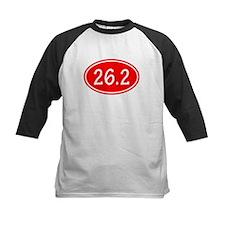 Red 26.2 Oval Baseball Jersey