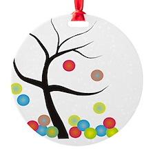 Tree Bubble FELL OF TREE Ornament