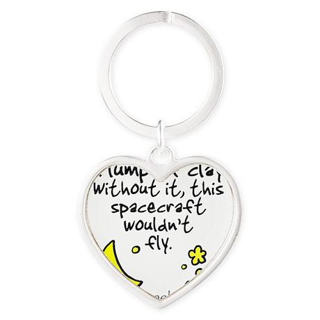 Moongeeks [A lump of clay](BT-MI)11 Heart Keychain