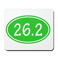 Lime 26.2 Oval Mousepad