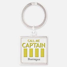 captain-2 Square Keychain