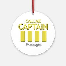 captain-2 Round Ornament