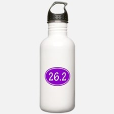 Purple 26.2 Oval Water Bottle
