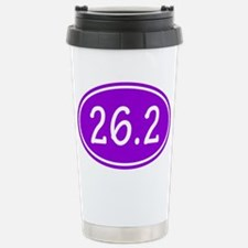 Purple 26.2 Oval Travel Mug