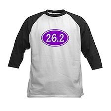 Purple 26.2 Oval Baseball Jersey