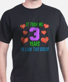 Took Me Three Years T-Shirt