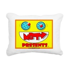 NBTV Presents - Logo1 Rectangular Canvas Pillow