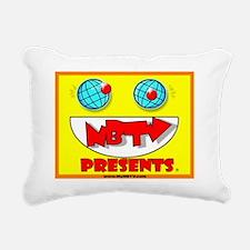 NBTV Presents - Logo1 Rectangular Canvas Pillow