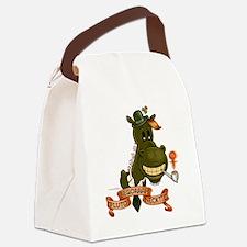 PlutoBegorrahNecktie Canvas Lunch Bag