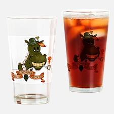PlutoBegorrahNecktie Drinking Glass