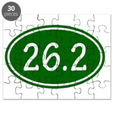 Green 26.2 Oval Puzzle