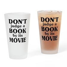 dontjudge Drinking Glass