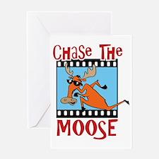 chaseMoose Greeting Card