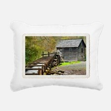 MingusMill_Topaz_PostCar Rectangular Canvas Pillow