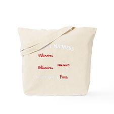 Millionaires-vs.-Billionaires-Brackets-wh Tote Bag