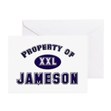 Property of jameson Greeting Cards (Pk of 10)