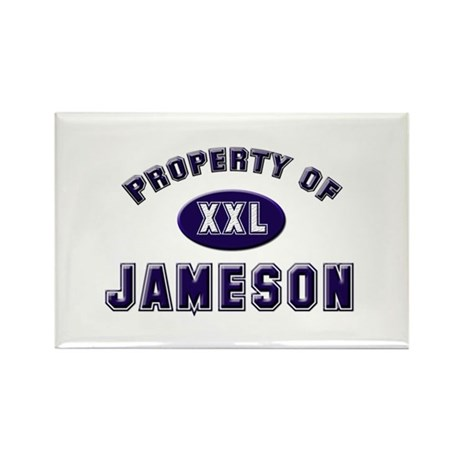 Property of jameson Rectangle Magnet