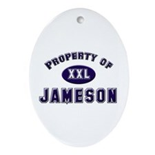 Property of jameson Oval Ornament