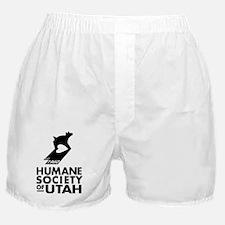 HSULOGO1960Vertical BW Boxer Shorts