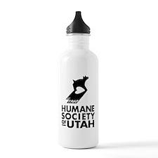 HSULOGO1960Vertical BW Water Bottle