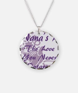 Nana Love Necklace Circle Charm