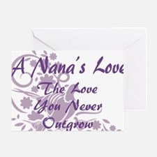 Nana Love Greeting Card