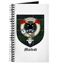 Macleod Clan Crest Tartan Journal