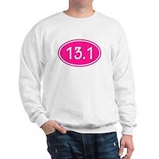 Pink 13.1 Oval Sweatshirt